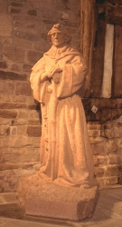 Statue of St. Chad