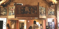 Carved Oak Gallery