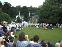 Folk Dancing on the Green