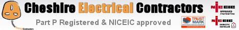 Stockport based Part P & NICEIC Approved Electical Contractor