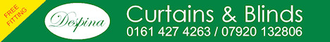 Despina Curtains & Blinds North West, free advice, measuring & fitting