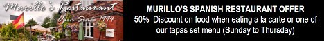Murillo's Special Offer