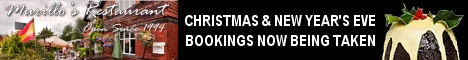Murillo's Christmas Bookings now being taken.