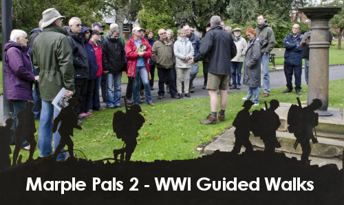 WWI Guided Walks Around Marple