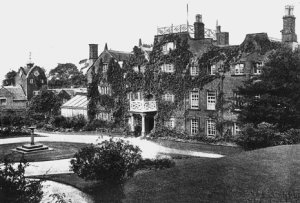 Marple Hall with Stables to left