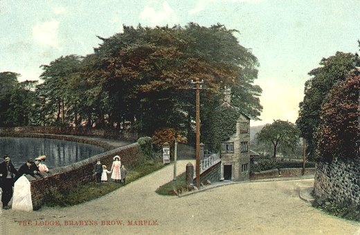 Brabyns Lodge, on Station Road / Brabyns Brow