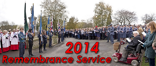2014 Remembrance Service Photos On-line