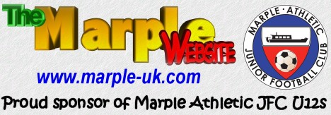Proud to sponsor Marple Athletic JFC U12's