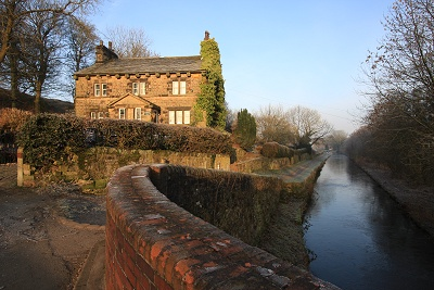 Brick Bridge on a recent frosty morning
