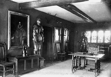 Armour in the Entrance Hall