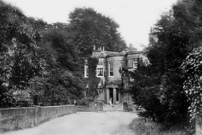 Mellor Lodge, the home Oldknow built for himself