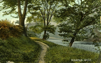 By the River Goyt in 1914