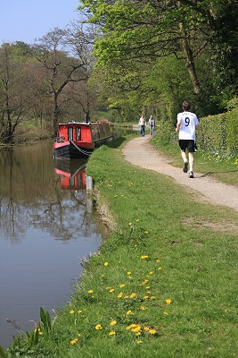 Peak Forest towpath