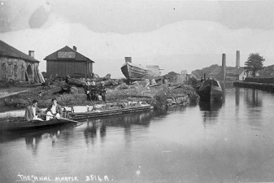 Top Lock around a century ago