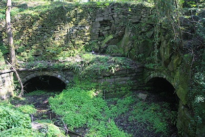 Tunnels from Mellor Mill as they are today