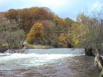 Weir on the River Goyt