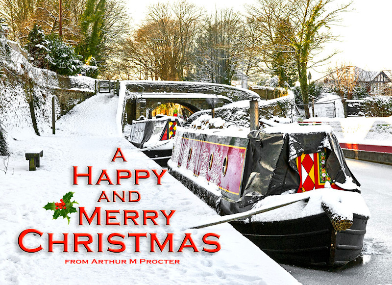 Christmas Greetings from Arthur and The Marple Website