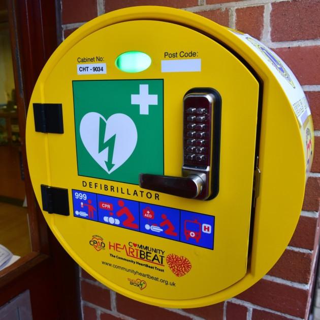 Marple Town Centre Defibrillator Appeal