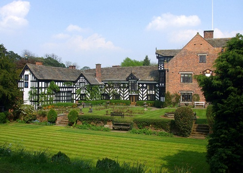 GAWSWORTH OLD HALL, CHESHIRE.