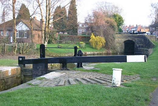 This photo was the inspiration for the Locks Bicentenary plaque