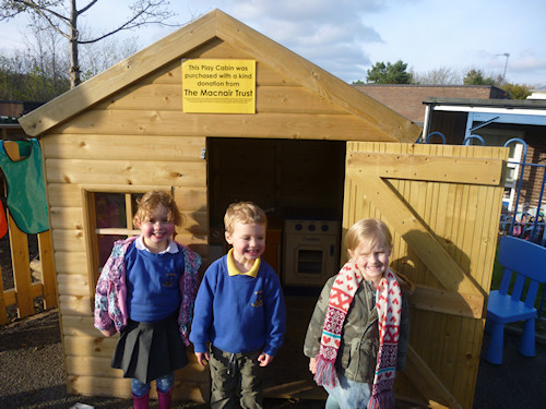 St Mary's RC Primary School Play Cabin
