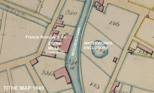 Tithe map 1849