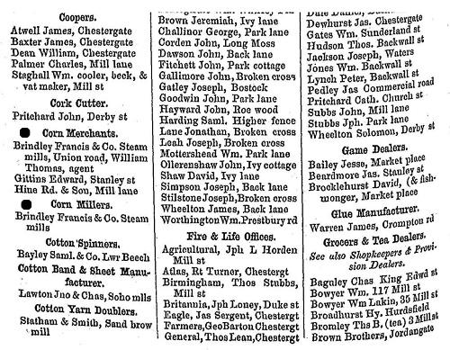 Macclesfield trade directory, 1850