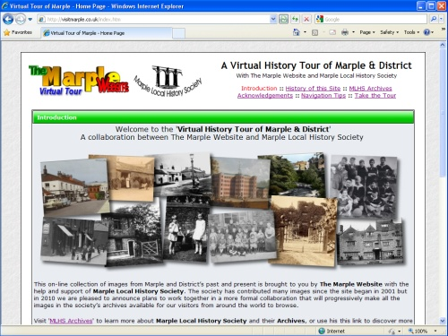 The Virtual History Tour of Marple & District